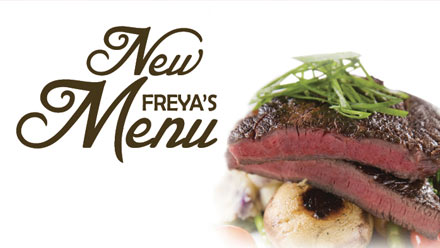 New Freya's Menu